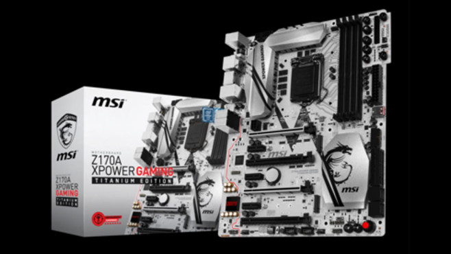 MSI Z170 Gaming-Motherboards © MSI