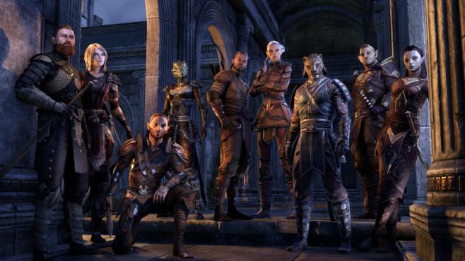 The Elder Scrolls Online: Update 11 f�r Konsolen erh�ltlich Mit Update 11 k�nnen Sie beliebig das Aussehen Ihres Charakters ver�ndern, vorrausgesetzt Sie haben gen�gend Kronen. ©Bethesda
