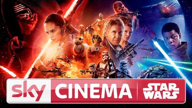 Sky Cinema STAR WARS HD © Sky