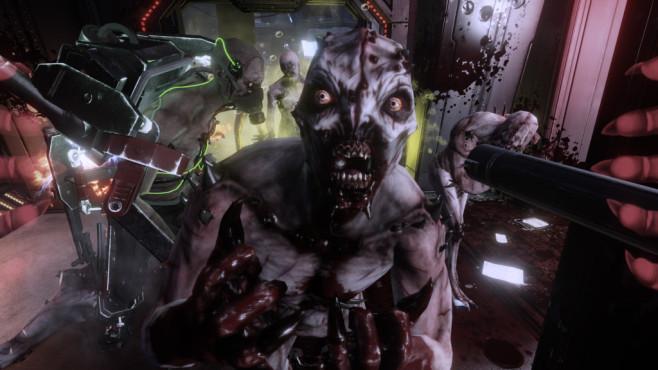 """The Killing Floor 2: Blutende Berserker, zerteilte Zombies Französische Schwarz-Weiß-Filme schauen Sie nur im Original? Auch dann ist """"The Killing Floor 2"""" das Falsche. ©Tripwire"""