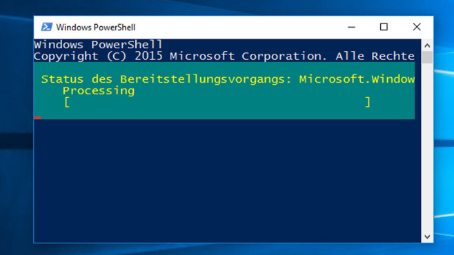 Bordmittel-Apps per PowerShell tilgen © COMPUTER BILD