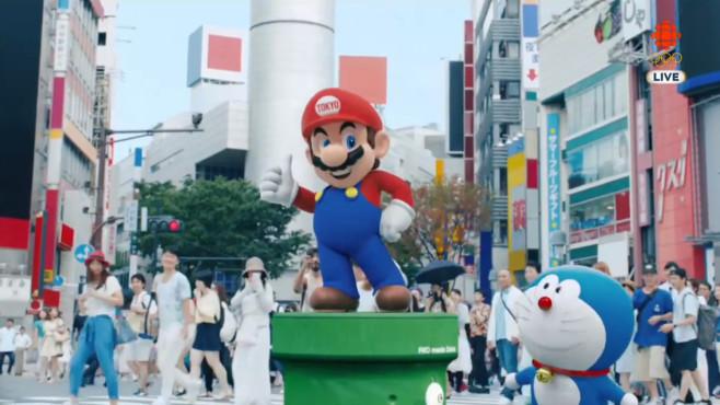 Super Mario bei den Olympischen Spielen ©Nintendo
