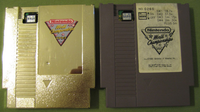 Nintendo World Championships – Gold / Grey Edition © Nintendo