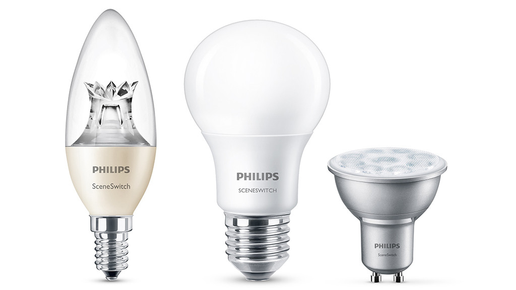 philips led lampen 2 stuks philips dimbare led lampen. Black Bedroom Furniture Sets. Home Design Ideas