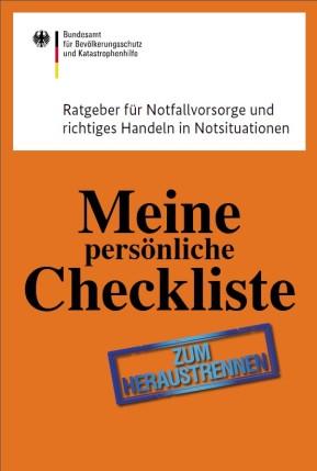Einkaufsliste für den Katastrophenfall & Checkliste für Notsituationen