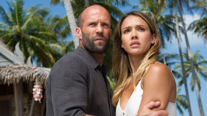 Szene aus The Mechanic 2 – Resurrection: Jason Statham, Jessica Alba © Universum Film GmbH