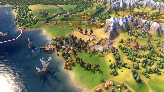 Civilization 6: Hafen © 2K Games