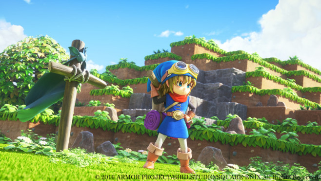 Dragon Quest Builders: Treppen © Square Enix
