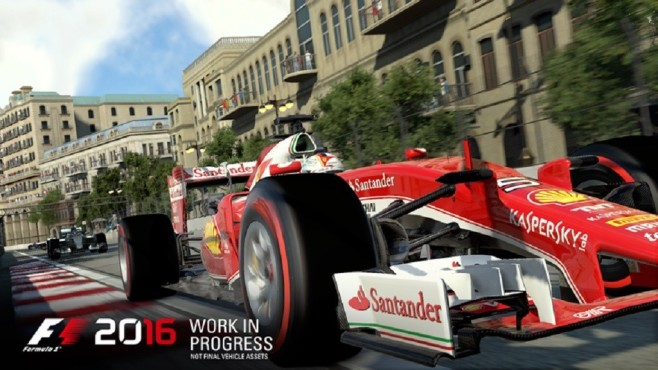F1 2016: Ferrari © Codemasters