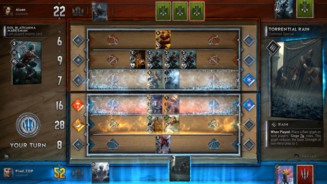 Gwent Witcher Card Game © CD Projekt Red