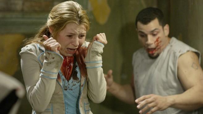 Potenzielle Opfer des Jigsaw-Killers ©Steve Wilkie/ZDF