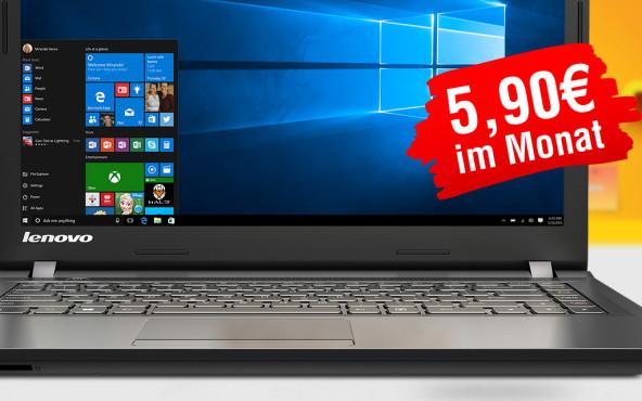 Windows 10-Abo ©Microsoft, Lenovo