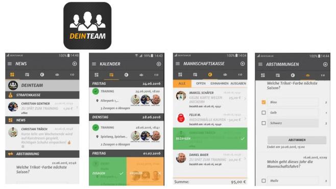 Dein Team. Manage Deinen Verein ©MS4 Sports GmbH