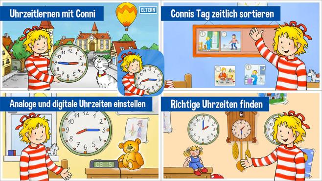 Conni Uhrzeit ©Carlsen Verlag GmbH