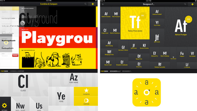 Fontbook © FSI FontShop International GmbH
