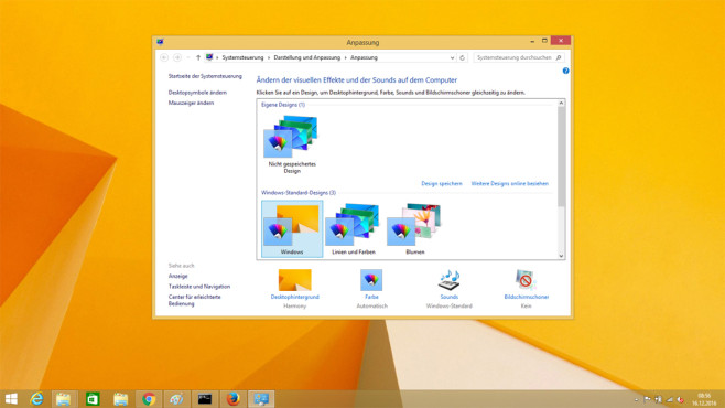 Desktop und Taskleiste – Windows 8 © COMPUTER BILD