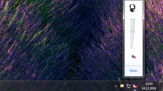 Infobereich – Windows 7 ©COMPUTER BILD