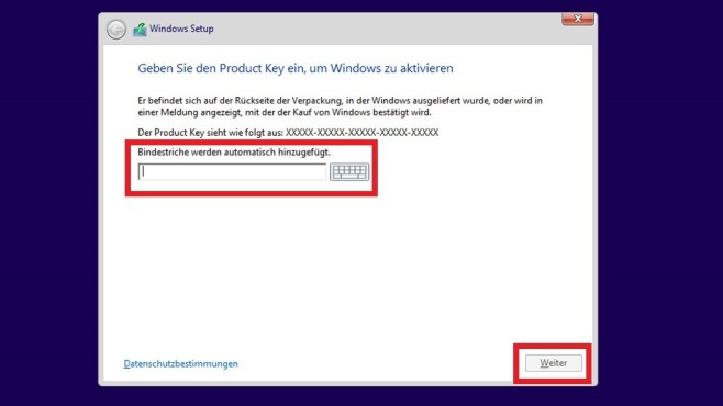 Installationsroutine – Windows 8 © COMPUTER BILD
