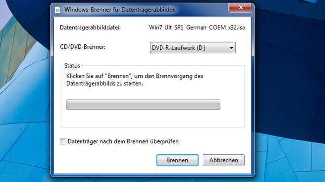 Mail-Software, PDF- und ISO-Umgang – Windows 7 ©COMPUTER BILD