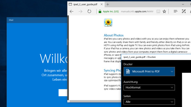 Mail-Software, PDF- und PDF-Umgang – Windows 10 ©COMPUTER BILD