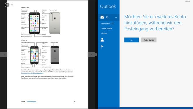 Mail-Software, PDF- und PDF-Umgang – Windows 8 ©COMPUTER BILD