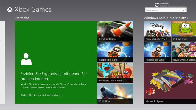 Spiele – Windows 8 ©COMPUTER BILD