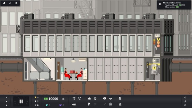 Project Highrise Screenshot © Somasim/Kasedo Games