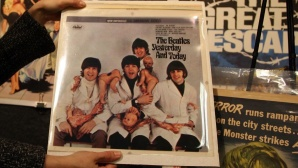 Altes Beatles Plattencover © Gabriel Bouys/gettyimages