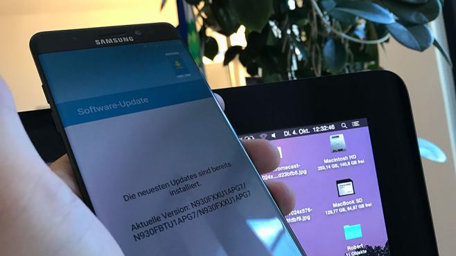 Samsung Galaxy Note 7: Akku-Problem ©COMPUTER BILD