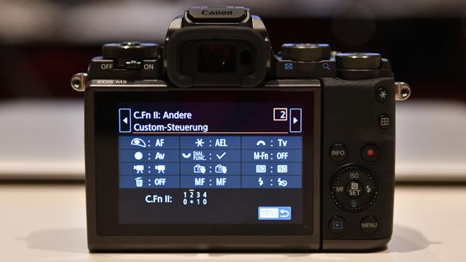 Canon EOS M5 ©COMPUTER BILD