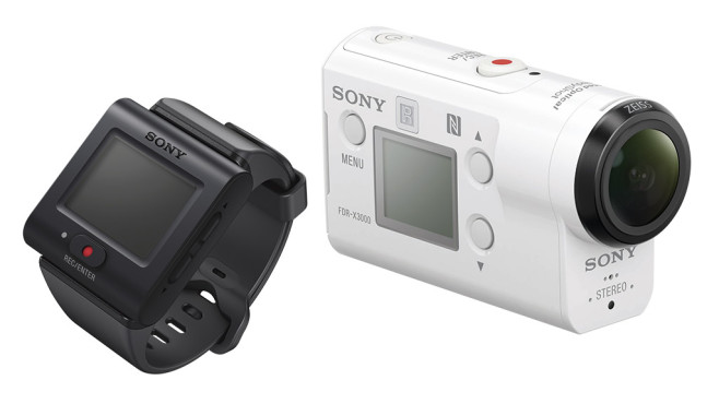 Sony FDR-X3000R ©Sony