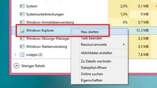 Windows 8: Charms-Bar erscheint nicht mehr ©COMPUTER BILD