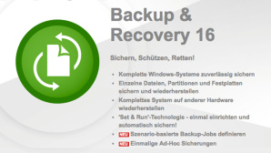 Paragon Backup & Recovery 16 gratis © Paragon Technologie GmbH
