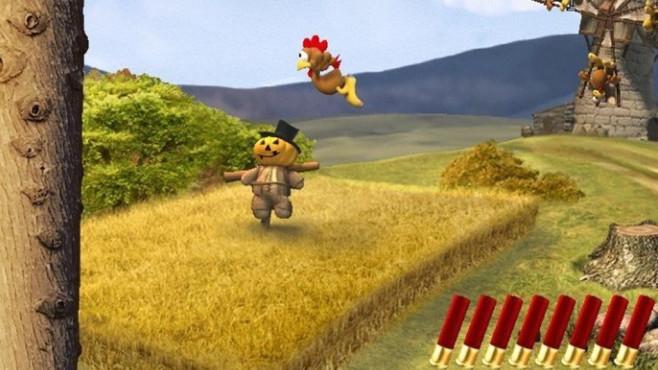Wilde Hühner-Action: Moorhuhn, Hühnerrache ©COMPUTER BILD