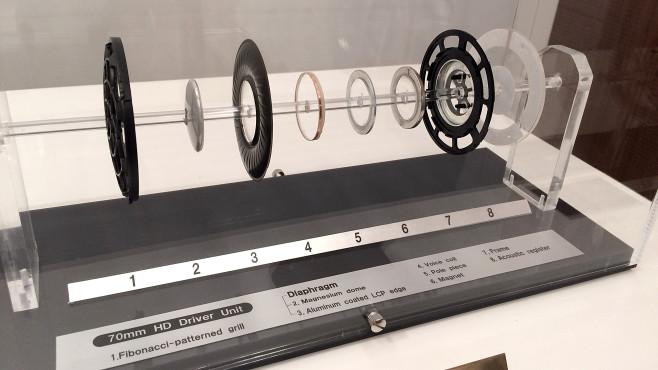 Neuer Edel-Kopfhörer Sony MDR-ZR1 Die Treiber, also die Lautsprecher im MDR-ZR1, sind aufwändiger als üblich: In der Mitte besteht die Membran aus Magnesium, außen aus Alu-beschichtetem Kunststoff. ©COMPUTER BILD