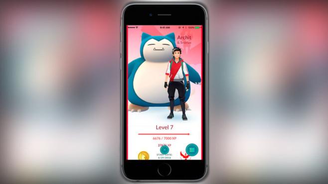 Pokémon GO Buddy System ©Niantic