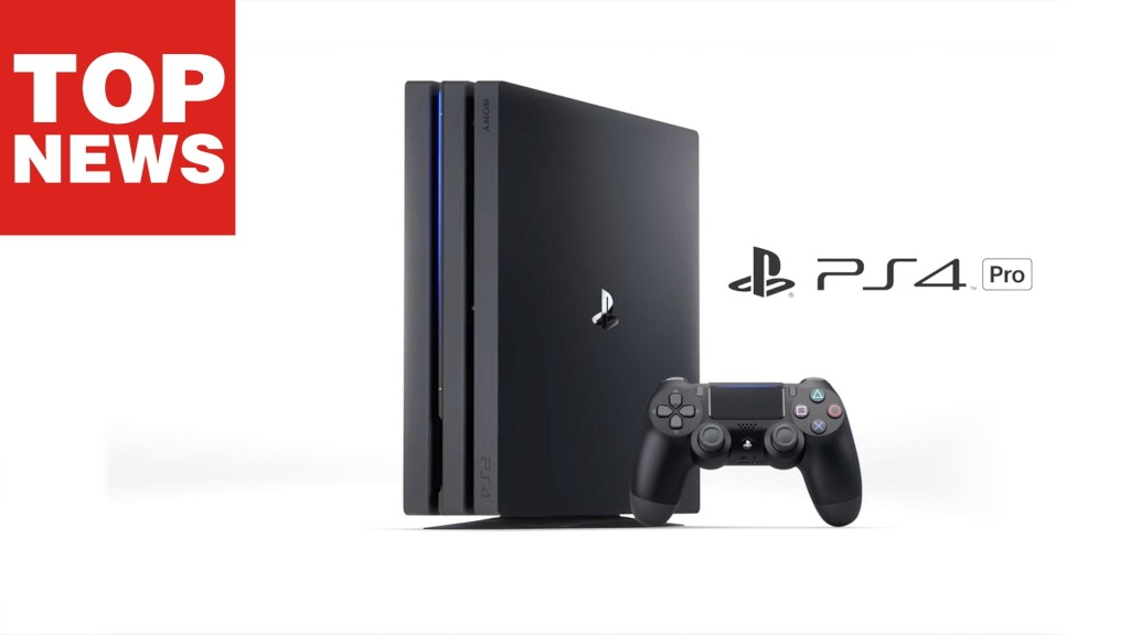 playstation 4 pro sony bringt 4k hdr und flottere chips. Black Bedroom Furniture Sets. Home Design Ideas
