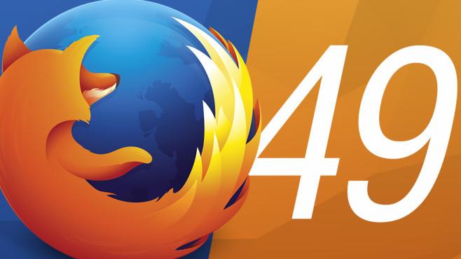 Firefox 49: Mozilla-Browser im Praxis-Check ©Mozilla