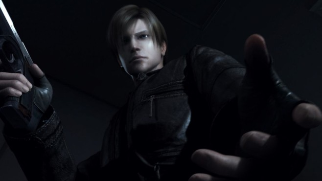 Leon S. Kennedy in Action ©Capcom Co., Ltd. and Resident Evil CG Film Partners