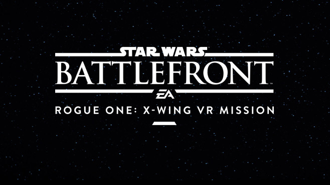 Star Wars – Battlefront: X-Wing VR Mission © EA