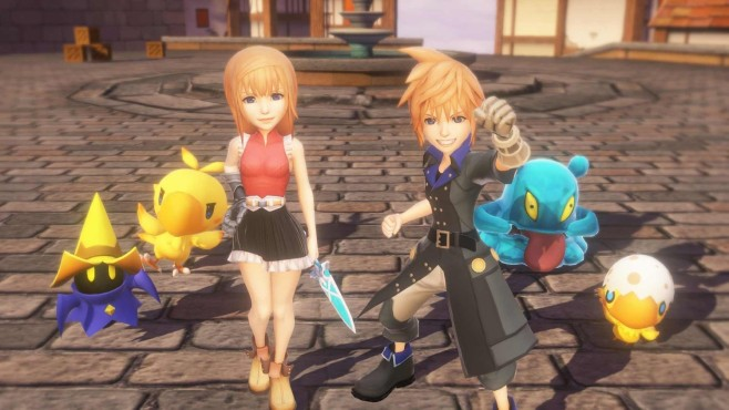 World of Final Fantasy © Square Enix