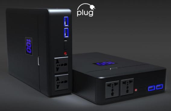 Plug-Powerbank ©ChargeTech