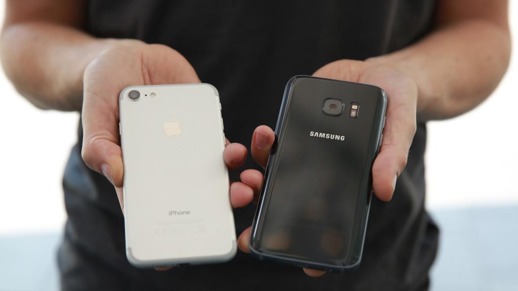 IPhone 7 Gegen Samsung Galaxy S7 C COMPUTER BILD Das