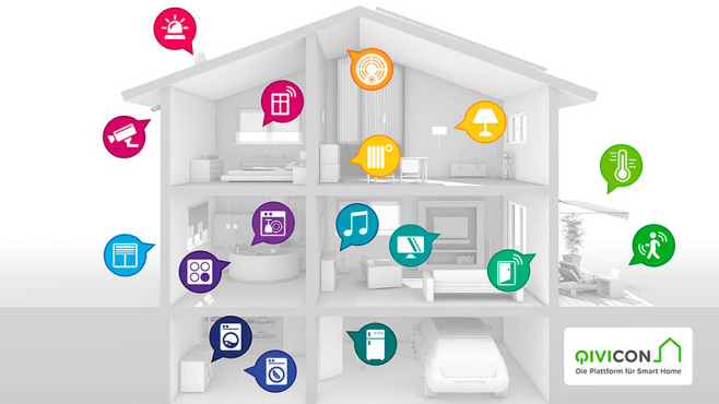 Smart Home: Qivicon © Qivicon