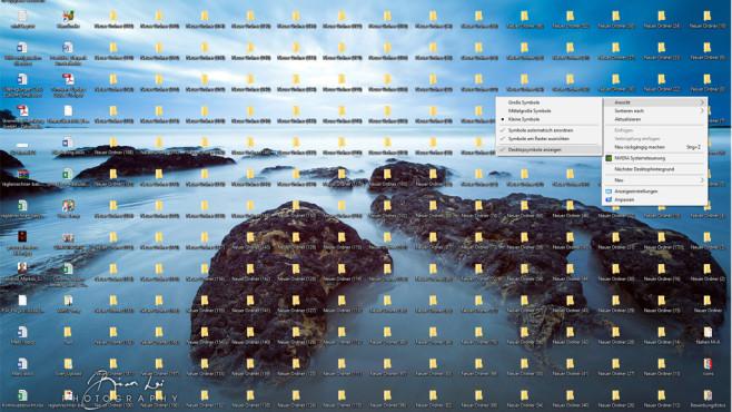 Freier Blick auf den Desktop ©COMPUTER BILD