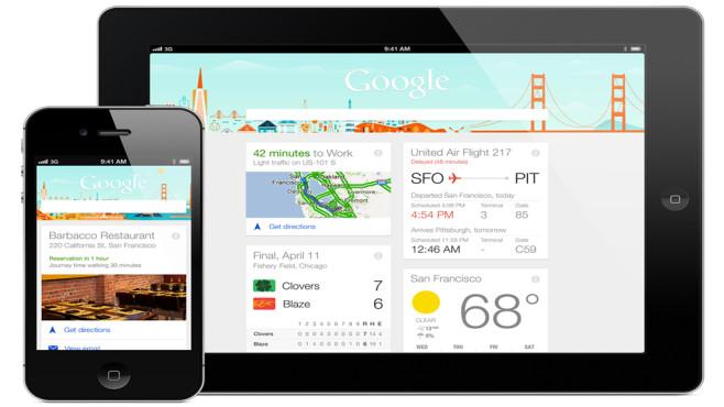 Google Now ©Google