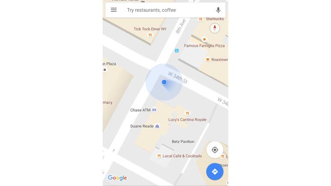 Google Maps ©Google Maps Blog