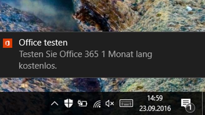 Werbung für Office 365 ©COMPUTER BILD