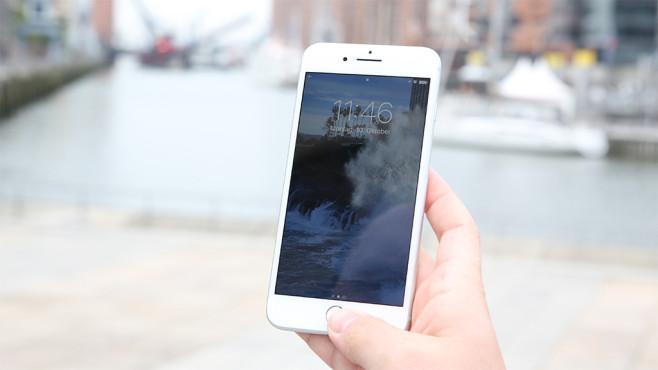 Homebutton iPhone ©COMPUTER BILD