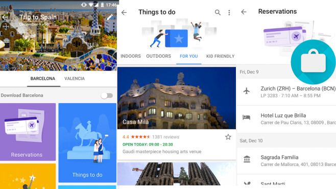 Google Trips ©Google Inc